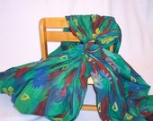 SALE - Teal Ring Sling Baby Carrier