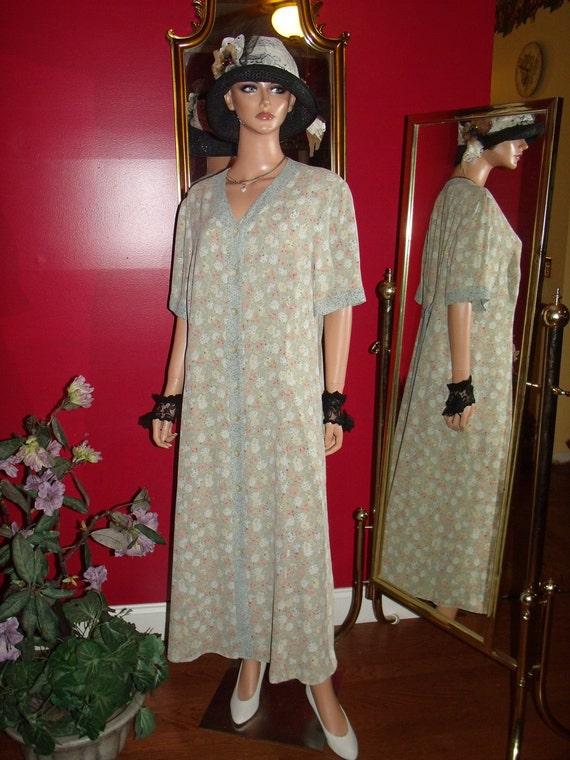 Vintage  Dress Flapper Daytime does 20-30 style Size Plus 16W