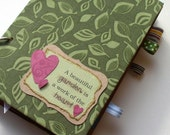 ON SALE NOW-The Garden mini album kit, art journal