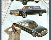 Original Collage Cars Confusion Stress