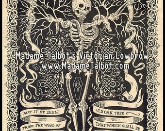 Madame Talbot's Victorian Lowbrow An Irish Toast to Your Coffin Poster