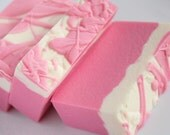 ON SALE - Garden Rose Soap - Handmade Cold Process