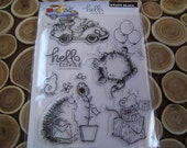 Hello Friend set of Clear Unmounted Stamps from Penny Black