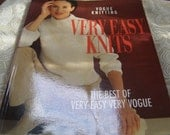 Vogue Knitting Very Easy Knits The Best of Very Easy Very Vogue - Fabulous Book for Knitters
