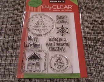 Wishes Come True Hero Arts Clear Unmounted Stamps - 7 pieces