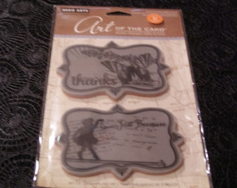 Just Because Art of the Card Hero Arts Cling foam-mounted Stamp Set