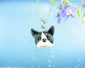 Cute Boston Terrier Necklace - Dog Jewelry, Boston Terrier necklace