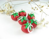 Mini Tomato Stitch markers (Set of 6)