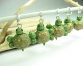 Green Turtle Stitch Marker (Set of 5)