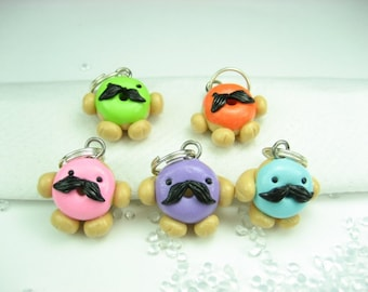 Master of Disguise Donut Stitch Markers (set of 5)
