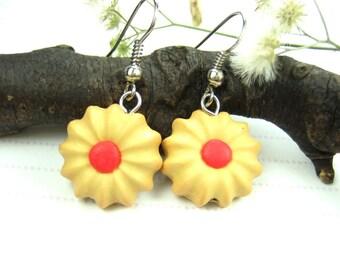 Butter Cookies Earrings - Food Jewelry