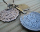 RESERVED- Pakistan Coin Necklace