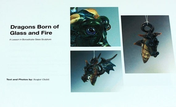 Lampworking Tutorial-How to Make Boro Glass Dragon Pendants-Technique-eBook