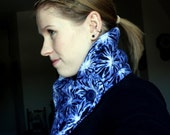 Neck Cozy, Blue Explosion
