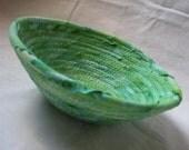 Small Kelly Green Bowl