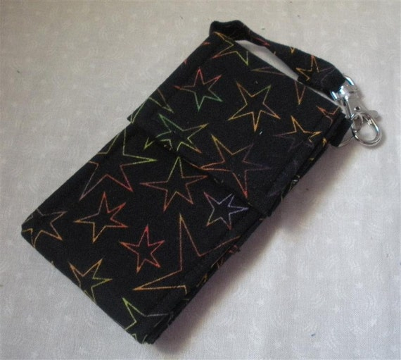 Stars on Black Cell Phone Case