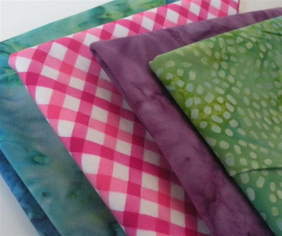 Four Fat Quarters of Any By-the-Yard Fabric in the Shop