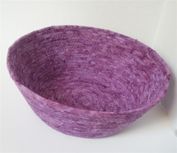 Large Perfectly Purple Bowl