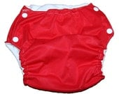 Reusable Pull-Up -- 3T-4T -- Red