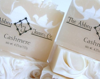 On Sale Cashmere Gourmet Soap