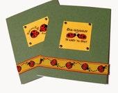 Ladybug Friendship Cards