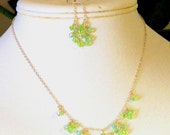 Delicate Dangles Necklace and Earring Set