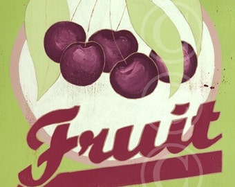 Fruit of the Spirit - Cherries