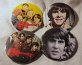 DAVY JONES The MONKEES pin back buttons badges 4 photo image