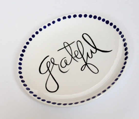 "The Grateful Collection 6"" Plate"