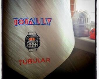 Totally Tubular Tea Towel