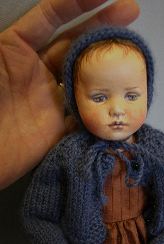 Pensive Child Doll Kit 1