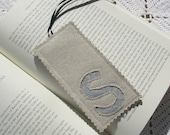 Monogrammed Bookmark - Initial - Letter S