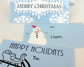 Assorted Variety Pack of Gift Tags - 36 Total
