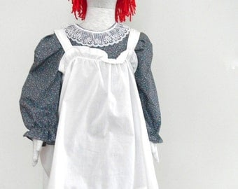 Raggedy Ann Costume  with Wig by Kiki's Things on Etsy
