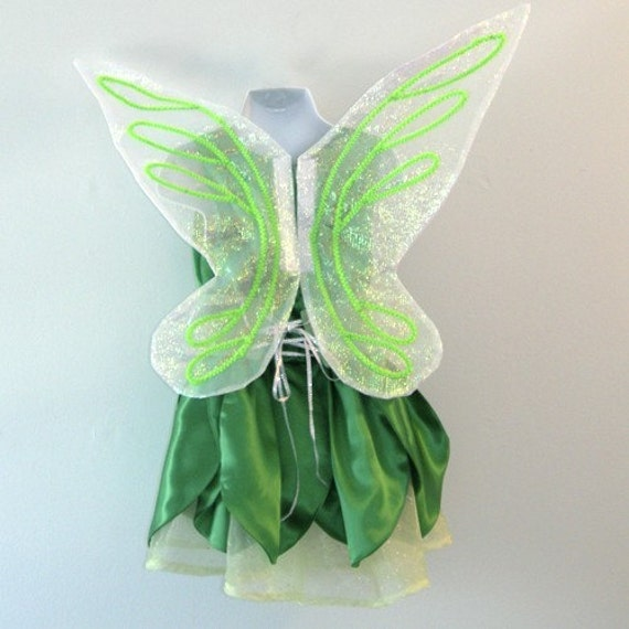 Tinkerbell Dress size 2 to 6
