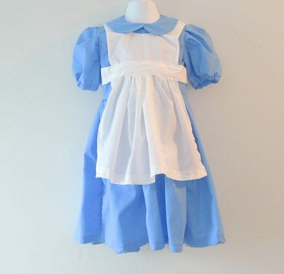 Alice in Wonderland Dress by Kiki's Things on Etsy size 3/4