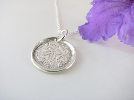 Reserved Listing for Pkulp - Sand Dollar Pendant