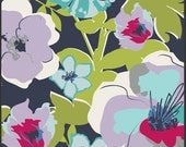 Art Gallery Pat Bravo - Modernology, Fashionable in Azure, Vogue Blue Palette 100% Quilters Cotton Available in Yards, Half Yards and FQ's