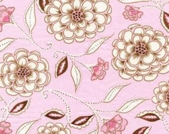 SALE 1 yard - Pink Dena Designs Leanika Rose DF56