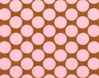 Camel Full Moon Polka Dot - Amy Butler - Lotus Collection 100% Quilters Cotton Available in Yards, Half Yards and Fat Quarters