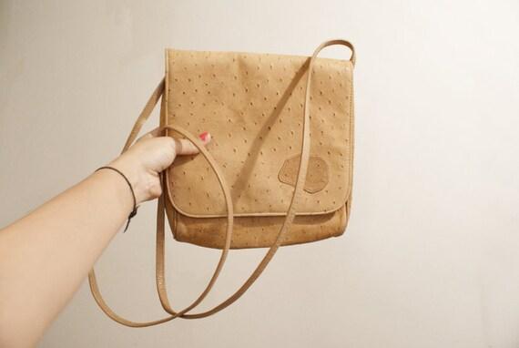 ostrich carlos falchi bag