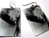 Hindenburg Zeppelin Earrings Photo Jewelry