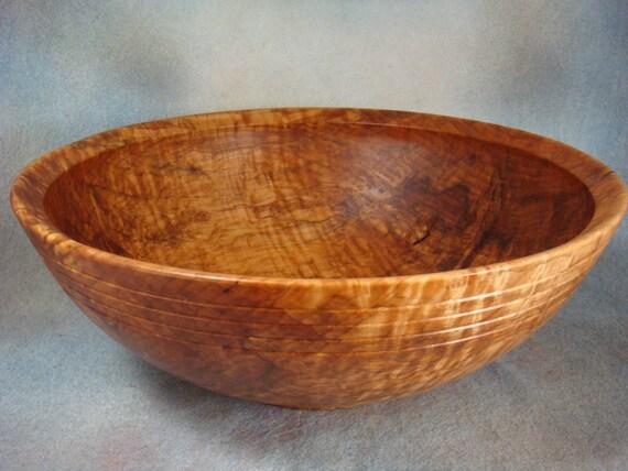 Heirloom Maple Bowl