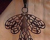 Art Deco Dragonfly Watch Fob
