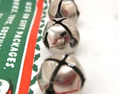 SALE Small Metal Jingle Bells by Criterion in Silver