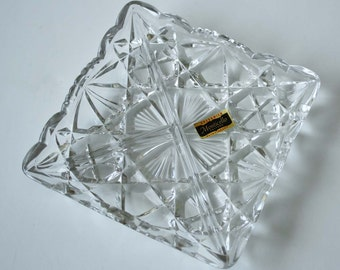 Greenwich Flint-Craft Monticello Glass Serving Tray