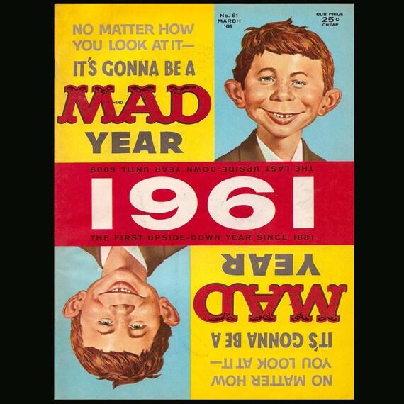 Mad No. 61 - Vintage Magazine c. March 1961