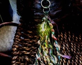 Hippie Chic Velvet Dreams Keychain or Pocketbook charm small