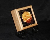 Yellow Rose - Tile Decorated Box
