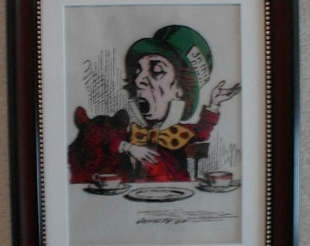 Mad Hatter - Alice in Wonderland 3D picture